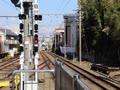 静岡鉄道 長沼駅 1000形発車&A3000形到着